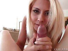 Madison ivy blowjob gets her a hot facial tubes