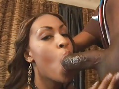Sexy doggystyle and a big cumshot on her ass tubes
