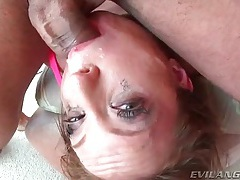 Messy face fucking and many facials for the slut tubes