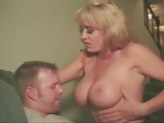Naughty blonde with fake tits fucked hardcore tubes