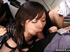 Japanese office lady fucked hard uncensored tubes