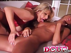 Cunt rubbing and tit sucking with three lesbian hotties tubes