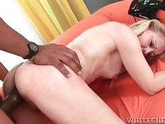 Mature white lady likes big black cock in cunt tubes