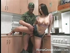 Horny farm girl fucked in cunt and ass lustily tubes