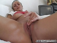Busty amateur girlfriend sucks and fucks tubes