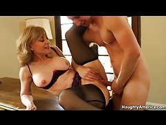 Milf nina hartley sucks and fucks on a desk tubes