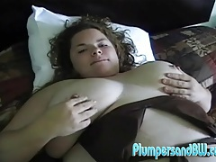 Masturbating fat chick in a hotel room tubes