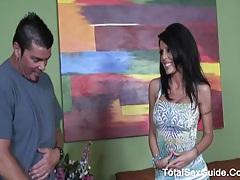 Tabitha stevens - big cock inside her pussy tubes