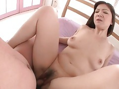 Good fuck of a curvy japanese chick with hairy box tubes