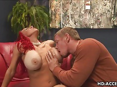 Redhead milf with big tits get fucked tubes