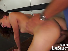 Slutty girl fucks for her license tubes