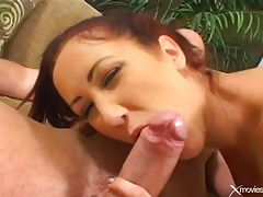 Long thick cock fucks her tight asshole deep tubes