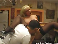Nasty blonde milf from holland tubes