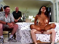 Watching his big titty wife have cheating sex tubes