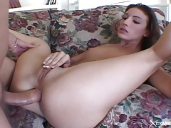 Sexy bj gets this skinny girl laid in the ass tubes