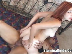 Heidi - she sucked cock deep in her throat and swallow tubes