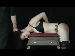 Cute bound girl gets a good flogging tubes