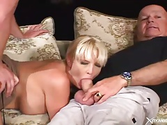 Cuckold video with wife blowjob and hardcore sex tubes