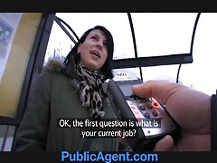Publicagent jana fucks me in the car for money tubes