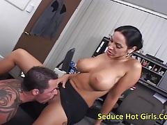 Veronica rayne -huge tits milf do tit fuck and got facial cum tubes