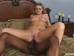 Young sophie dee ass fucked by black cock tubes