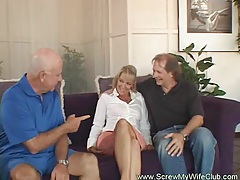 Mrs. wolf is one sexy swinger! tubes