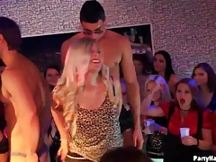 Party girls love the hot bodies of the male dancers tubes