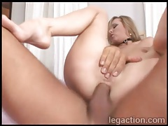 Sexy slut rides dick with ass and sucks it clean tubes