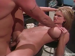 Big cock fucks busty blonde slut briana banks tubes