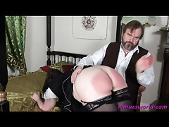 Fat french maid spanked on her sex ass tubes