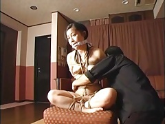 Sexy rope bondage video with young japanese girl tubes