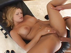 Big cock anal sex with a sticky facial cumshot tubes