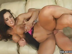 Pornstar with big tits gets hard fucking tubes