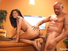 Asian anal sex scene with tattooed slut tubes