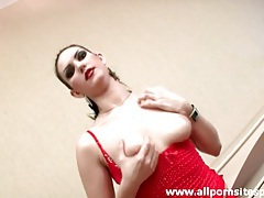 Horny tease girl fucked in her beautiful bald pussy tubes