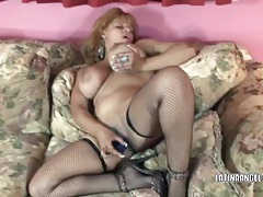 Busty milf angel fucks her latina pussy tubes