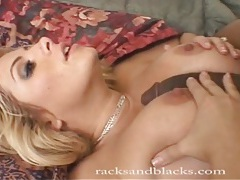 White girl is a pro taking monstrous black cock tubes