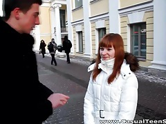 Casual teen sex - warm sex on a cold winter day tubes
