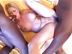 Black dicks nailing white sluts in group video tubes