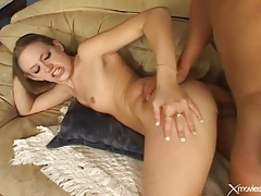 Firm small tits on cutie he bangs in the ass tubes