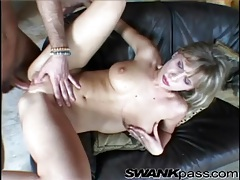 Beautiful lean body on this anally fucked girl tubes