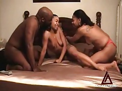 Ebony threesome with black guy fucking amateurs tubes