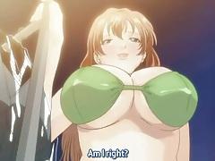 Hentai bikini babes with fake tits fucked tubes