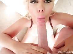 Bridgette b gives good head in pov video tubes