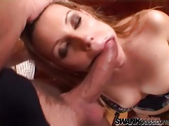 Slut dressed in lingerie pleases a rock hard cock tubes
