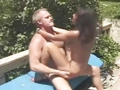 Close up shots of her hot cunt fucked outdoors tubes