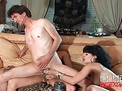 Slut shares hard cock with her man tubes