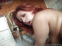 Redhead reverse cowgirl cock ride is hot stuff tubes