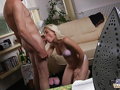 Young girl sucks old dick tubes