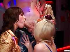 Hot cunt licking and frisky blowjobs at party tubes